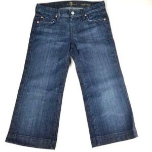 7 for all mankind Crop DOJO Denim Jeans
